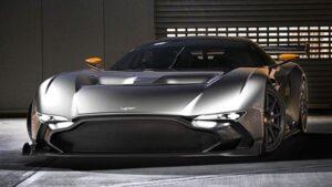 Aston martin Vulcan face