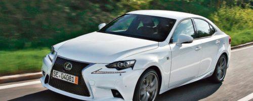 La Lexus IS