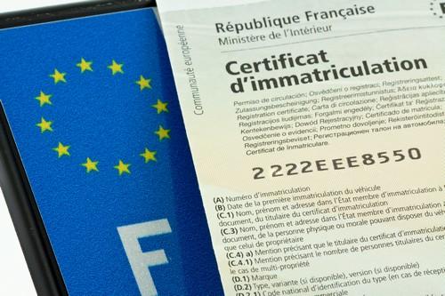 comment faire une carte grise collection Carte grise française pour véhicule étranger   CM Prestige