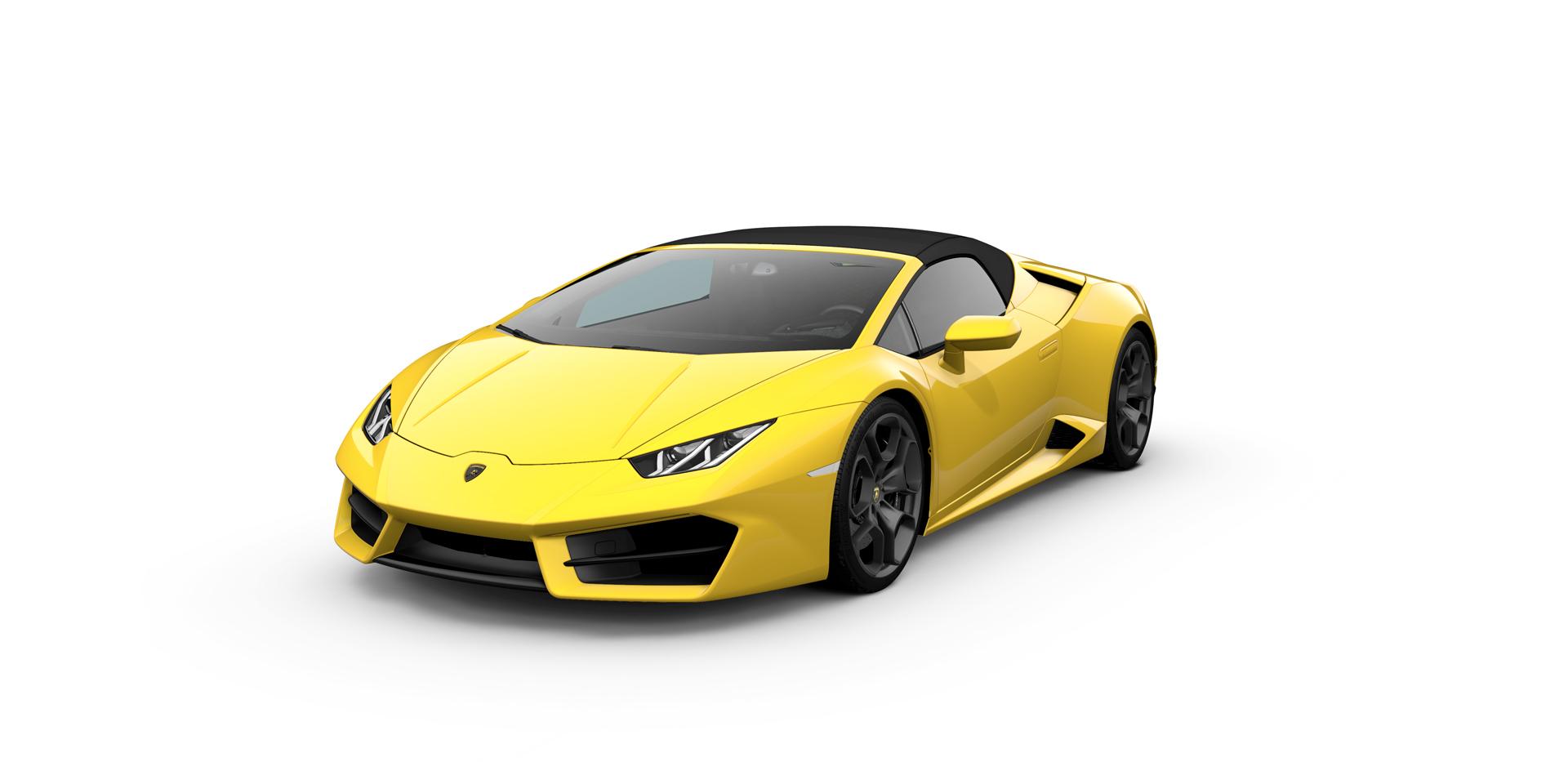 Assurance Lamborghini Huracan rwd spyder