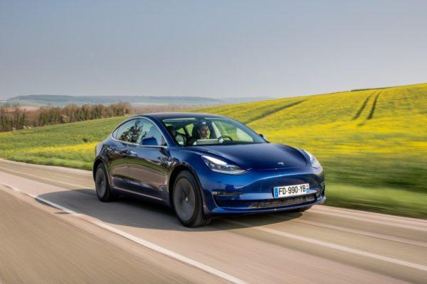 Tesla Model 3, une grande autonomie